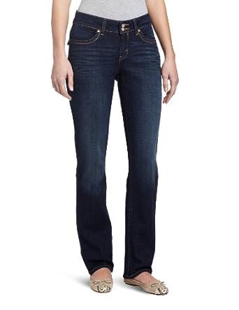 李维斯Levi's Women's 529 Styled中腰直筒Mid Rise Jean牛仔裤 蓝$29.99