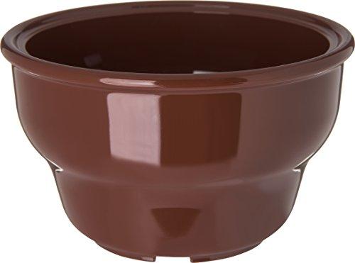 Carlisle 455328 Melamine Deep Salsa Bowl, 8-oz. Capacity, 2.37