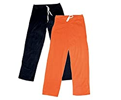 IndiWeaves Women Super Combo Pack 4 (Pack of 2 Lower/Track Pant and 2 T-Shirt)_Black::Orange::Red::White_XL