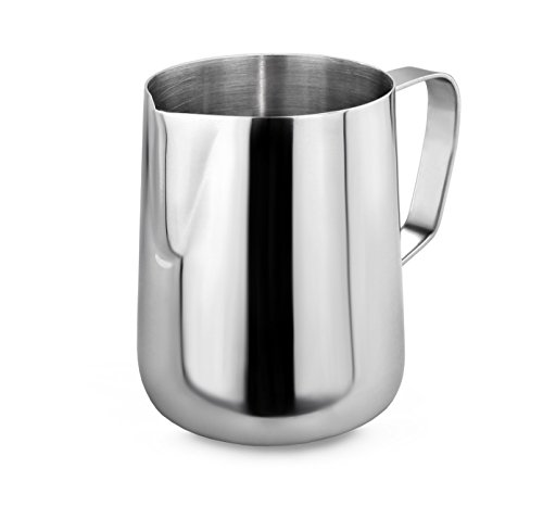 New Star Foodservice 28805 Commercial Grade Stainless Steel 18/8 Frothing Pitcher, 12-Ounce (12 Cup Water Pitcher compare prices)