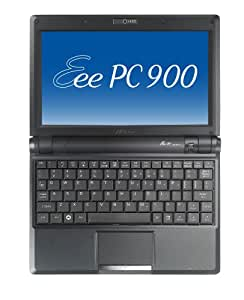ASUS Eee PC 900 8.9-Inch Netbook (Intel Mobile Processor, 1 GB RAM, 20 GB Solid State Drive, Linux, 4 Cell Battery) Galaxy Black