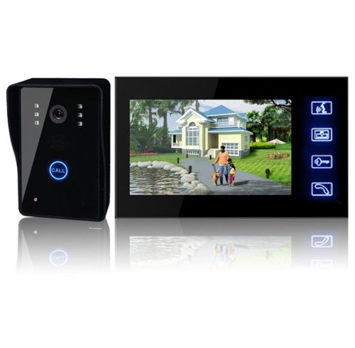 Cheapest Price! DragonPad New Arrival! 7lcd Wireless Video Door Phone Doorbell Intercom System Nigh...