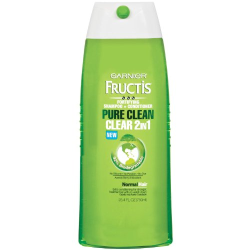 Garnier Fructis Pure Clean 2-In-1 Shampoo And Conditioner For Normal Hair, 25.4 Fluid Ounce (Pack Of 4 front-185526