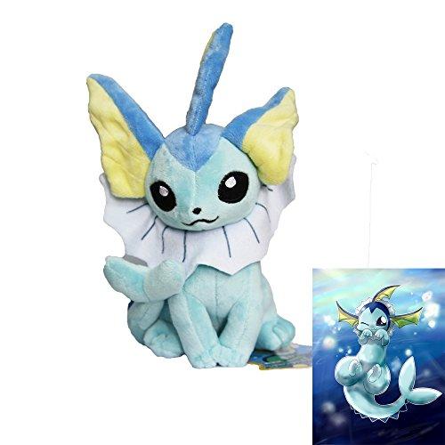 2015-Nuevo-Centro-de-Pokemon-de-peluche-original-Sit-Pose-Vaporeon