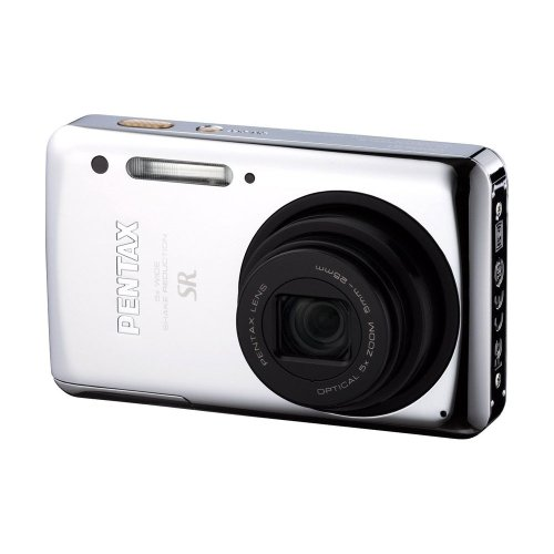 Pentax Optio S1 14 MP Digital Camera with 5X Optical Zoom, 2.7-inch LCD and Aluminum-Alloy Housing (Chrome)