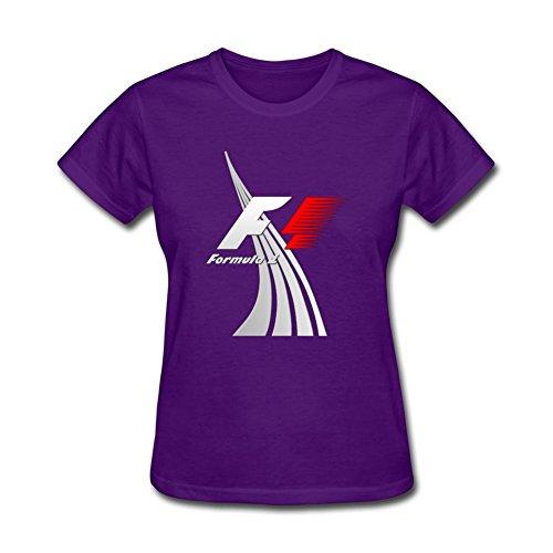 Futhure Women's F1 Formula 1 Cotton DIY T Shirt (Williams Formula 1 compare prices)