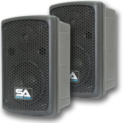 "Seismic Audio - Nps-6 - 6"" Molded Pa/Dj Speakers Speaker System"