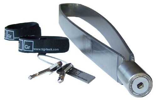 Titanium bicycle lock package with 1.25