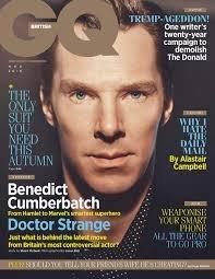 British GQ Magazine (November, 2016) Benedict Cumberbatch Doctor Strange Cover (British Gq compare prices)
