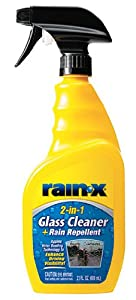 Rain-X 5071268 2-in-1 Glass Cleaner and Rain Repellant - 23 oz.