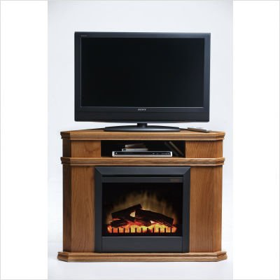 Westmont Fireplace in Western Oak