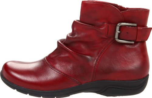 Clarks Women's Chris Sydney Boot,Burgundy Leather,7.5 M US