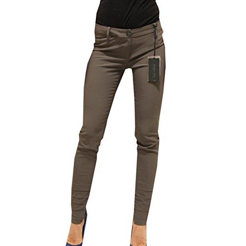 9627F pantaloni grigi PATRIZIA PEPE SERA VISCOSA pantalone donna trousers women [38]