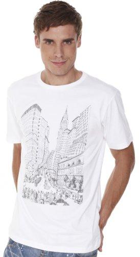 Retreez Big Apple New York Printed Men's T-shirt