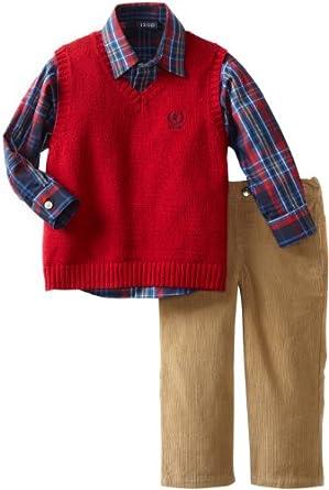 Izod Kids Little Boys 39 Solid Sweater Vest