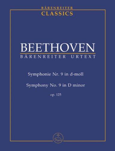 ベートーヴェン: 交響曲 第9番 ニ短調 Op.125 「合唱付き」/ベーレンライター社デル・マール編中型スコア
