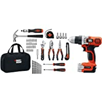 Black & Decker LDX112PK 12-Volt MAX Lithium-Ion Drill and Project Kit