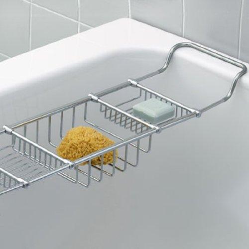 How To Adjustable Traditional Bathtub Caddy Rack Model