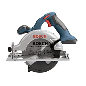 Bare-Tool Bosch CCS180B 18-Volt 6-1/2-Inch Litheon Circular Saw (Tool Only, No Battery)