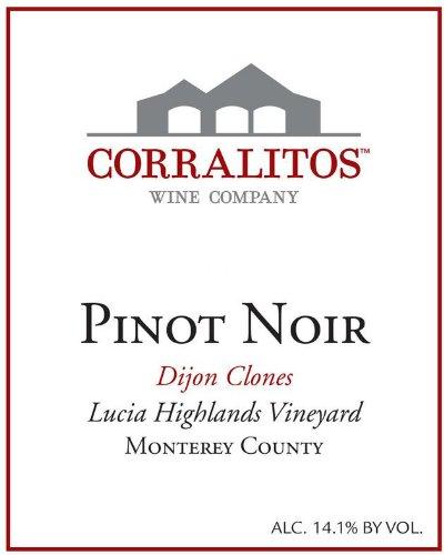 2009 Corralitos Pinot Noir - Santa Lucia Highlands Dijon Clones 750 Ml