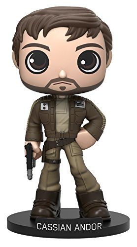 Funko Wobbler: Star Wars Rogue One - Captain Cassian Andor Action Figure
