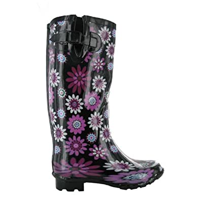 Ladies Extra Wide-calf Wellies Wellington Boots Sizes 3-8