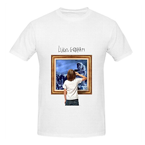 Lukas Graham 7 Years Men O Neck Graphic Shirt White (30 Pack Of Beer compare prices)