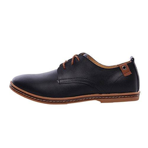 yijee-talla-extra-ocio-zapatos-oxfords-de-cordones-derby-para-hombre-negro-41