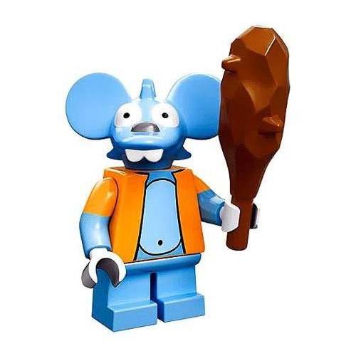 Lego 71005 The Simpson Series Itchy Simpson Character Minifigures - 1