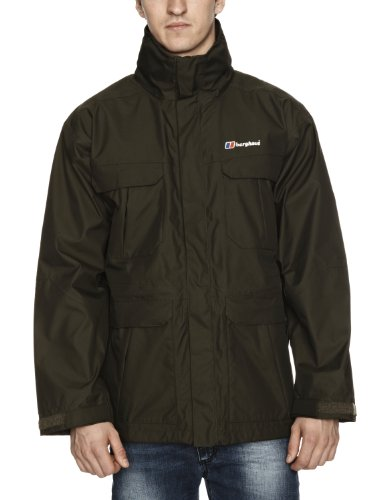 Berghaus RG Parka Shell Men's Jacket - Highland Green, XX Large