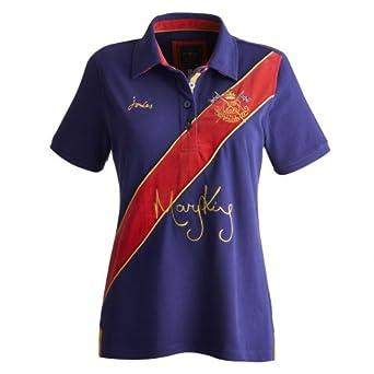 Joules Mary King Polo Shirt Indigo 14
