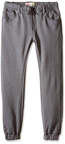 Levi's Big Boys' Knit Jogger, Grey Marled, Small