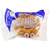 ThinSlim Foods 40-45 Calorie, 2g Net Carb Muffins 4pack (Blueberry)