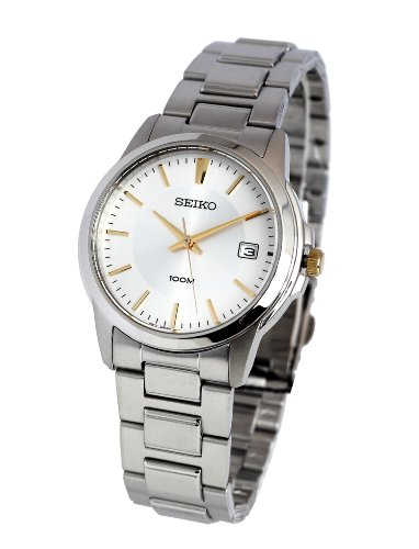 Seiko Men'S Sgef53 Stainless Steel Bracelet Watch