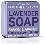 Scottish Fine Soaps Lavender Floral Soap Tin Soap  100 g