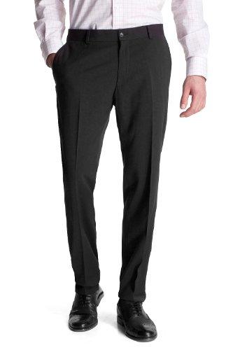 Esprit N34260 Straight Men's Trousers Black W38 INxL32 IN