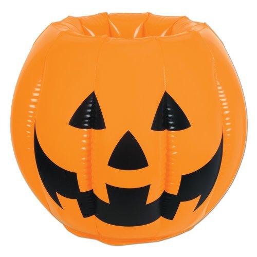 Jack-o-Lantern Inflatable Cooler