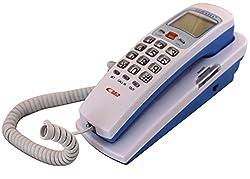 KX-T555 CID landline CallerID Phone Corded Telephone (White)