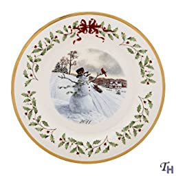 Lenox 2011 Annual Holiday Plate