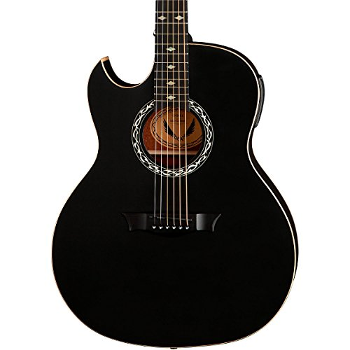 Dean Guitars Lefty Acoustics Ex Bks L Acoustic-Electric Guitar, Left Handed, Black Satin