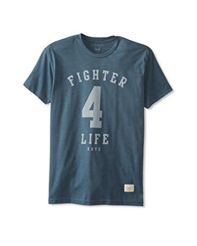 Kinetix Men's Fighter 4 Life Crew Neck T-Shirt