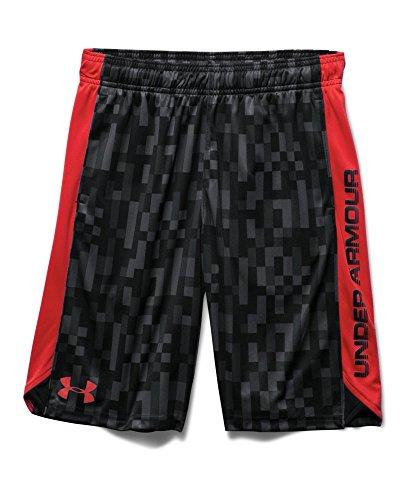 Under Armour Big Boys' UA Eliminator Printed Shorts Youth Large Graphite