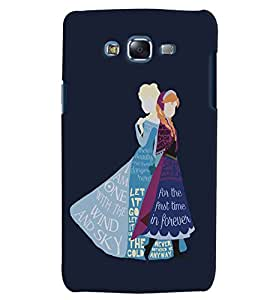 Citydreamz Forever/Let It Go/Quotes/Girls/Abstract Hard Polycarbonate Designer Back Case Cover For Samsung Galaxy On5 Pro