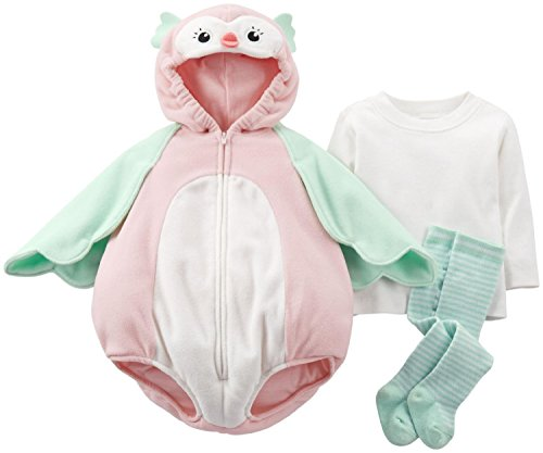 Carters Halloween Costume Baby Owl 3 Pcs 3-6 Months New