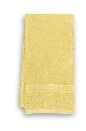 GUND Bear Essential Ringspun Bath Towel, Lemon, 24'' By 48''