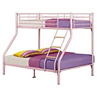 Nexus Triple Sleeper Bunk Bed Colour: Pink
