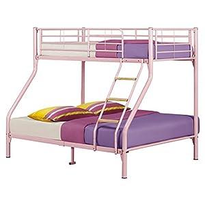 Nexus Triple Sleeper Bunk Bed Colour: Pink