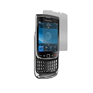 Invisible Gadget Guard | Screen Protector Shield for Blackberry Torch 9800 | Lifetime Replacements
