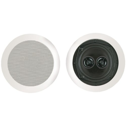 """Brand New Bic America 5.25"""" Dual Voice Coil Stereo Ceiling Speaker"""
