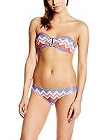 Happy and So Bikini Ensemble Bandeau Imprimé (Multicolor / Amarillo)